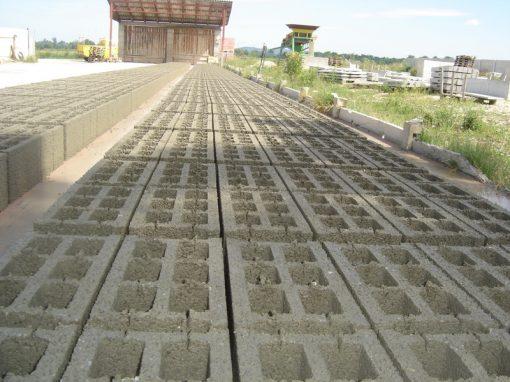 Proizvodnja betonskih blokova