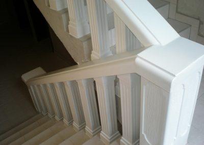Betonska ograda za unutarnje stepenice