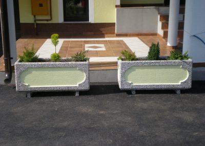 Betonske žardinjere za cvijeće