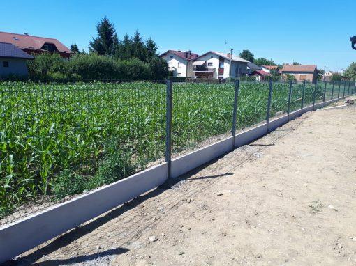 Betonski parapet za panelne ograde