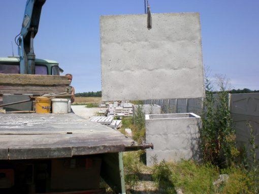 Betonski šahtovi s iskopom i postavljanjem