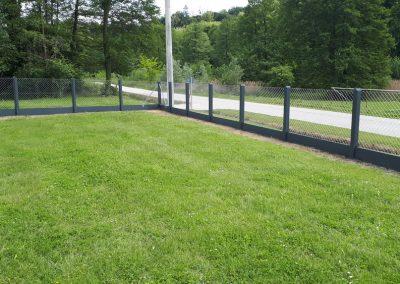 Betonski stupovi za ogradu od pletene žice