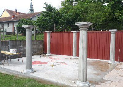 Betonski ukrasni stupovi